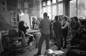 Helen studio pic Adrian Saunders